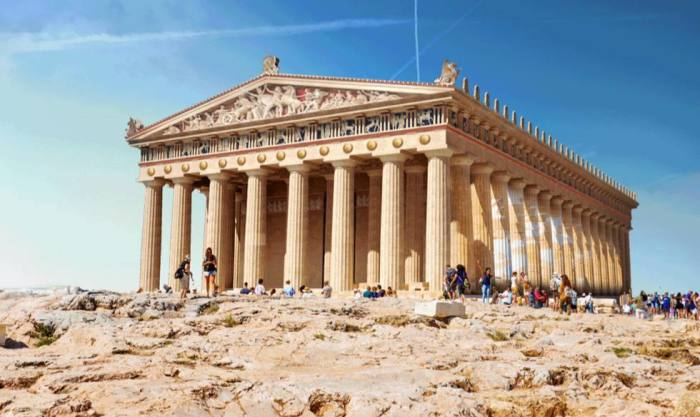 Храм парфенон в афинах: фото, описание