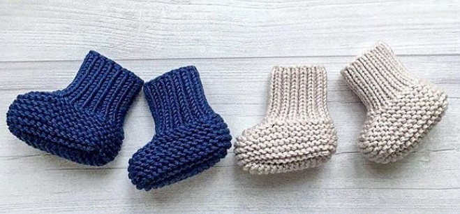 Пинетки для новорожденных: виды и размеры, как сделать своими руками