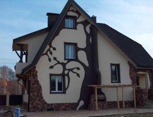 Отделочные материалы для облицовки фасадов частных домов, панели для отделки фасадов: фото