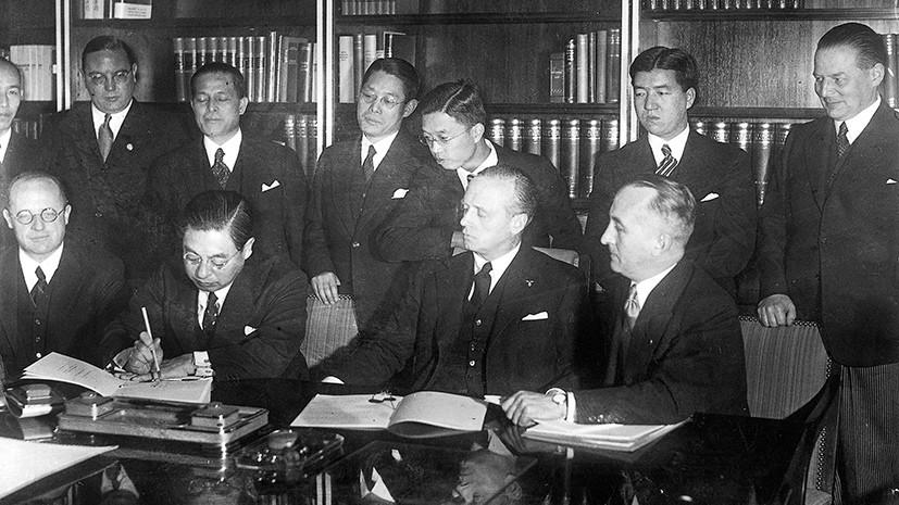 Антикоминтерновский пакт — википедия. что такое антикоминтерновский пакт