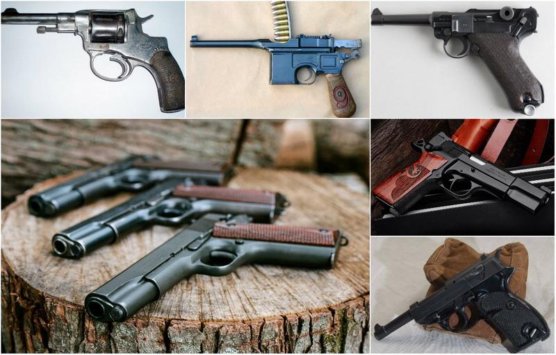 Боевые пистолеты россии, сша и мира, типы и разновидности современного огнестрельного оружия, каталог обзоров, сравнений и рейтингов