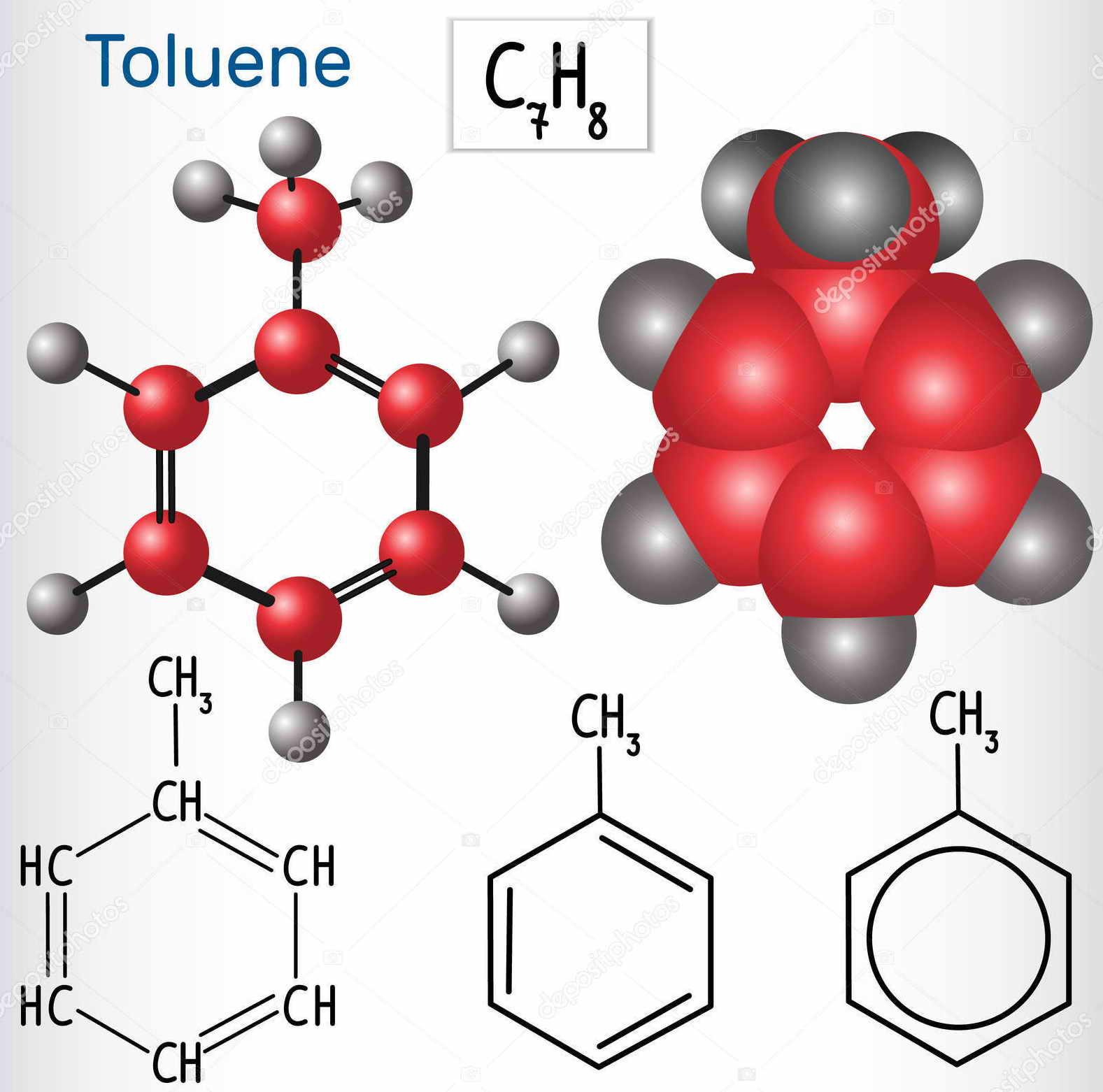 Физико-химические свойства толуола, уравнения реакций :: syl.ru