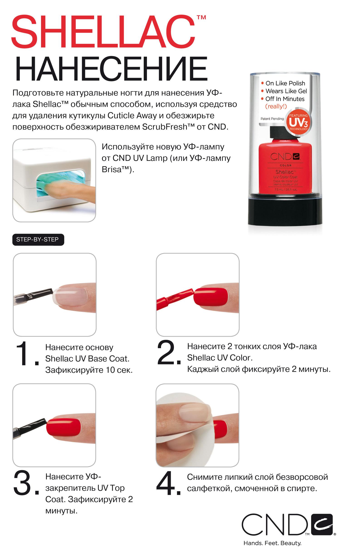 Что такое покрытие шеллак для ногтей