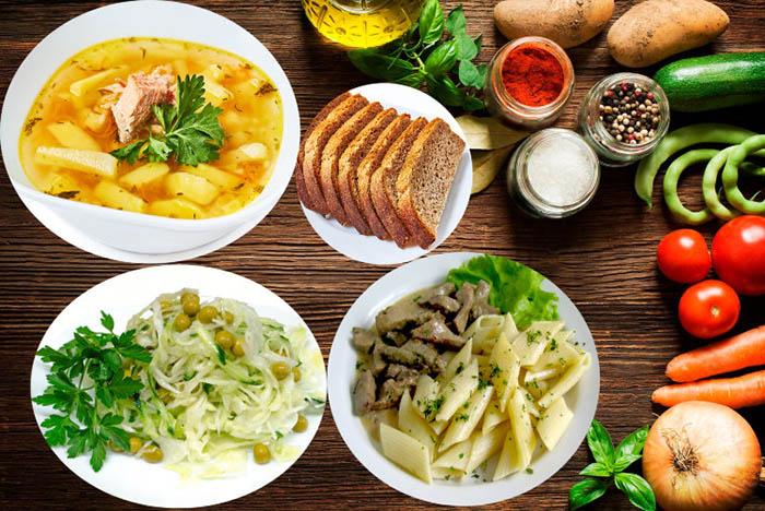 Что есть на обед при правильном питании