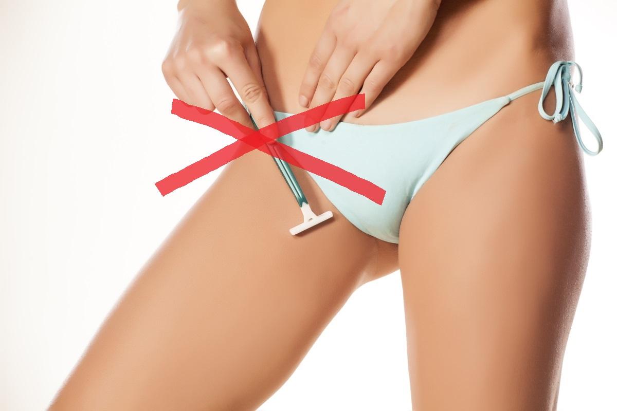 Лазерной эпиляции глубокого бикини (подготовка,как делают тотальную эпиляцию бикини - волосовед