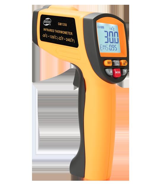 Инфракрасный термометр gp-300 — пирометр для измерения температуры тела человека