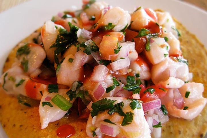 Севиче экваториано – кулинарный рецепт