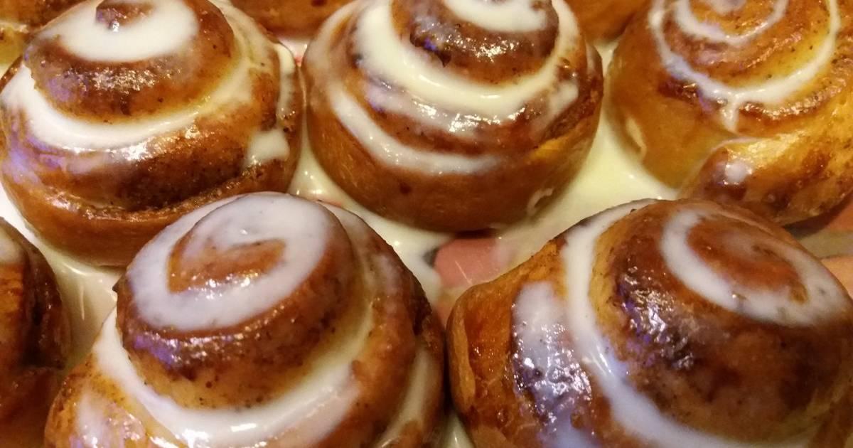 """Самые нежные булочки """"синнабон"""" – кулинарный рецепт"""