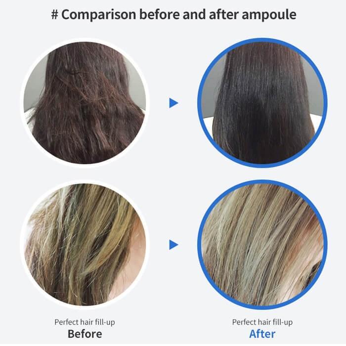 Как использовать филлер для волос