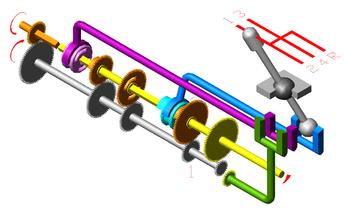 Механическая коробка передач: устройство, принцип работы, типы, схемы