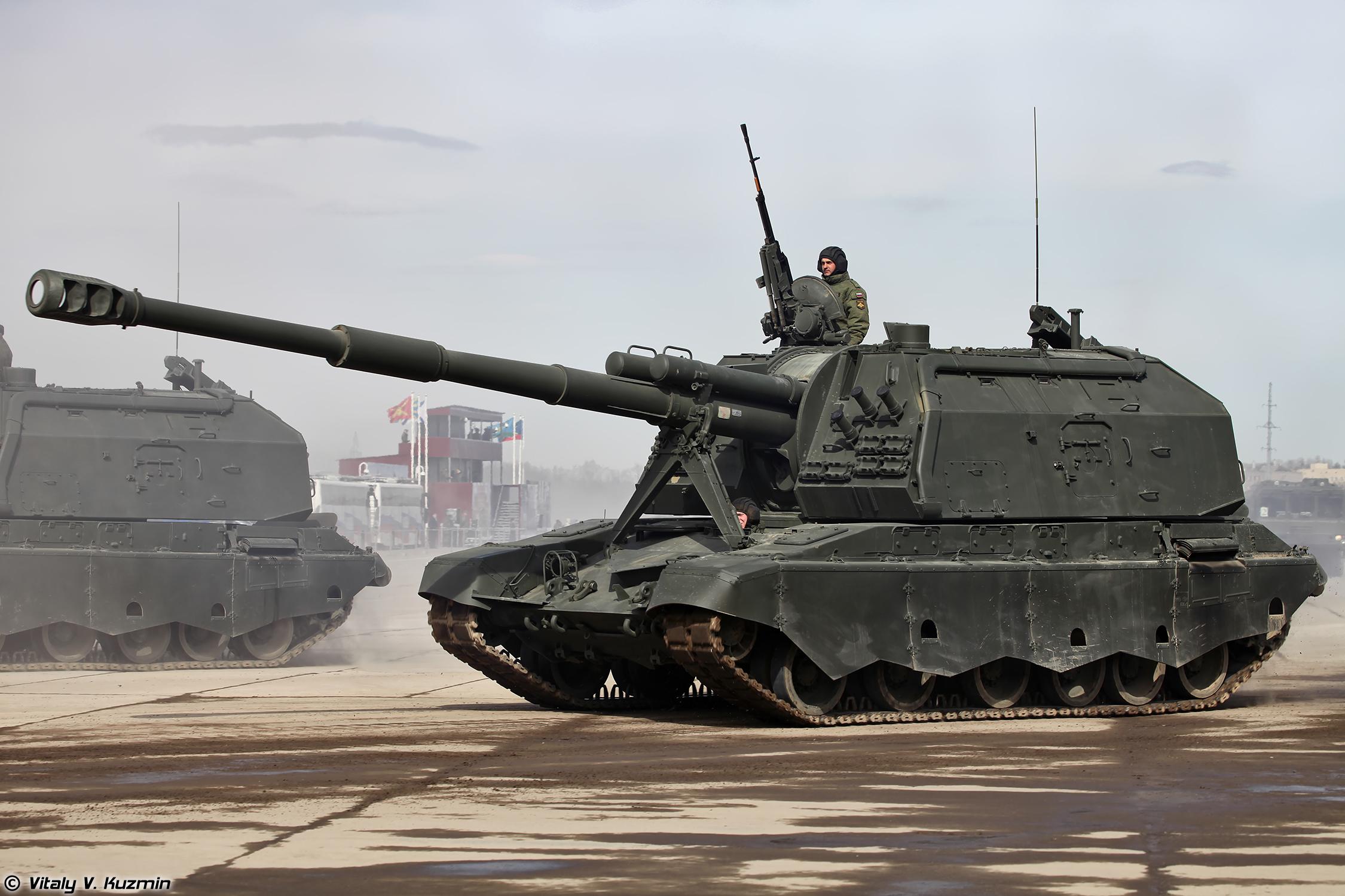 Самоходная «коалиция»: чем уникальна новейшая артиллерийская установка вс россии — рт на русском