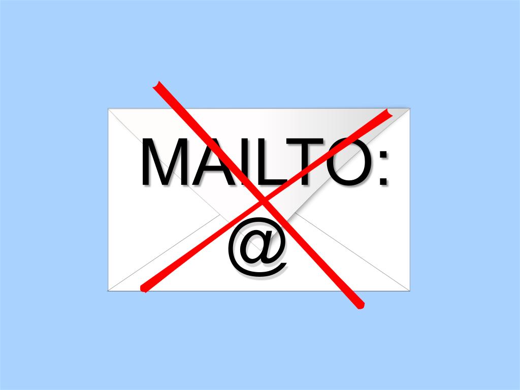 Html/url схема «mailto:»