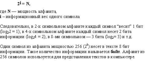 Мощность алфавита в информатике - помощник для школьников спринт-олимпик.ру