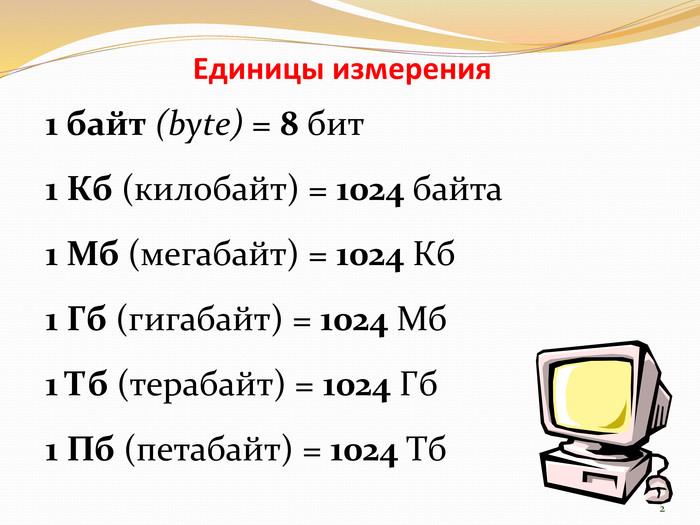 Сколько мегабайт в гигабайте (1 мб в 1 гб), 1 кб сколько 1 мб -  онлайн конвертер величин для перевода единиц измерения информации