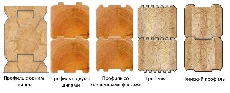 Профилированный брус: достоинства и недостатки, виды и свойства