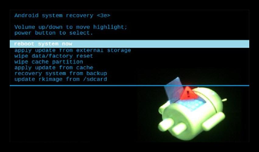 Wipe data factory reset— что это такое
