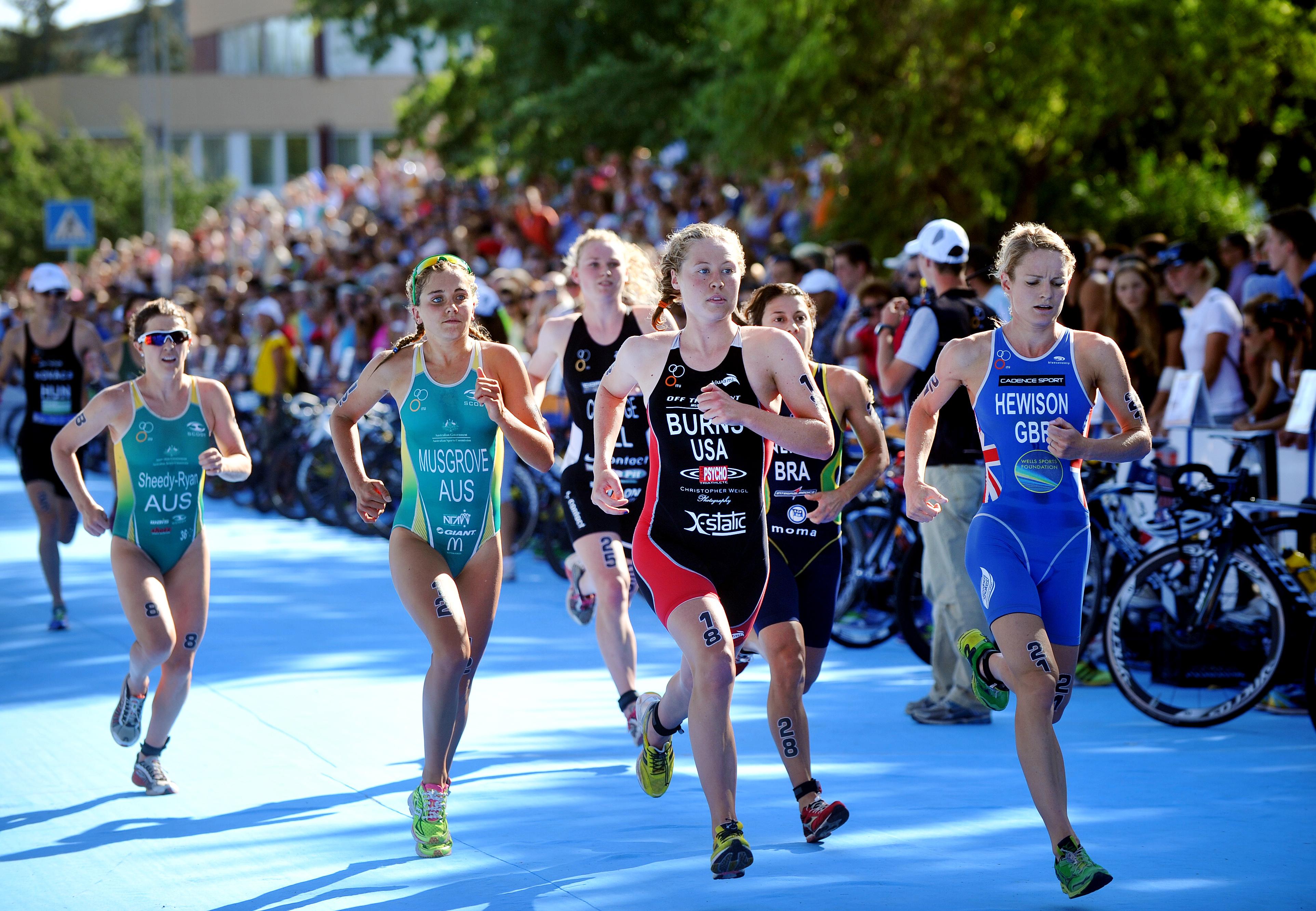 Любители vs профессионалы в триатлоне среди женщин