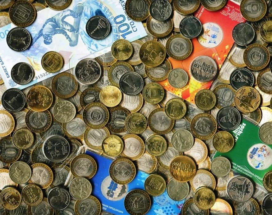 Сколько стоят монеты ввашем кошельке