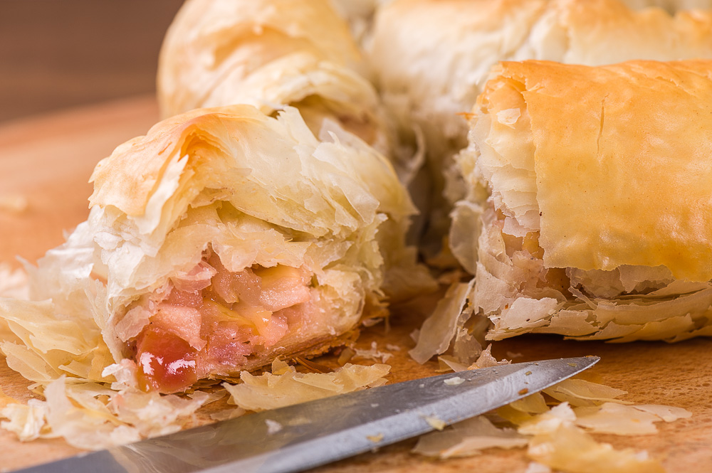 Пирожки из теста фило – кулинарный рецепт