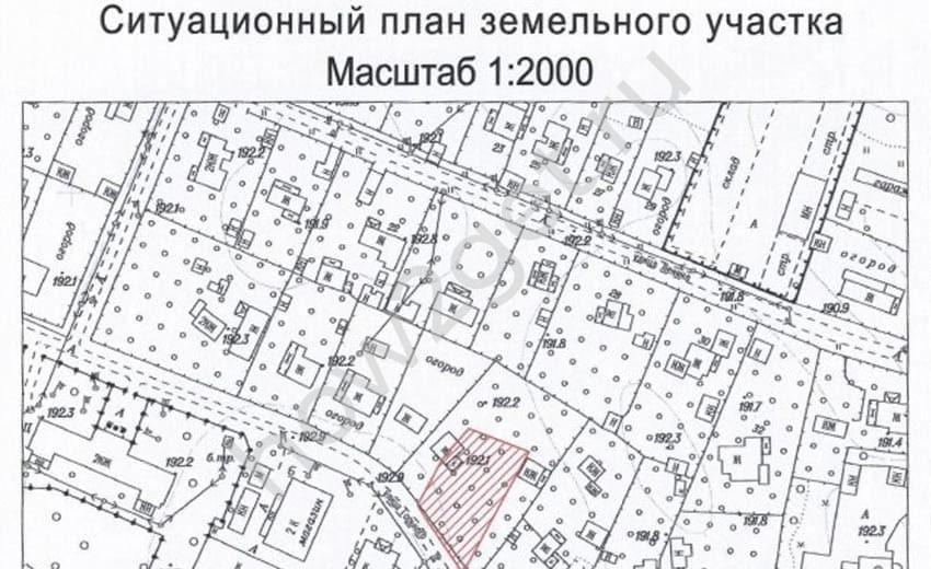 Как посмотреть ситуационный план земельного участка онлайн?