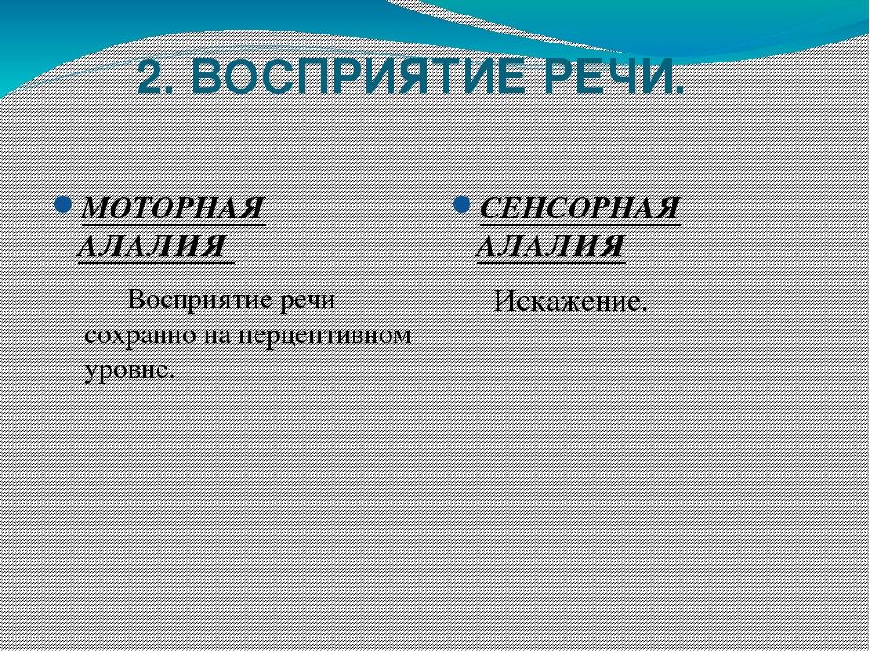 Алалия моторная: причины, симптомы, лечение, прогноз