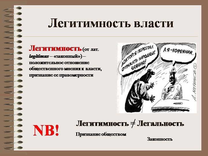 Легитимность — википедия