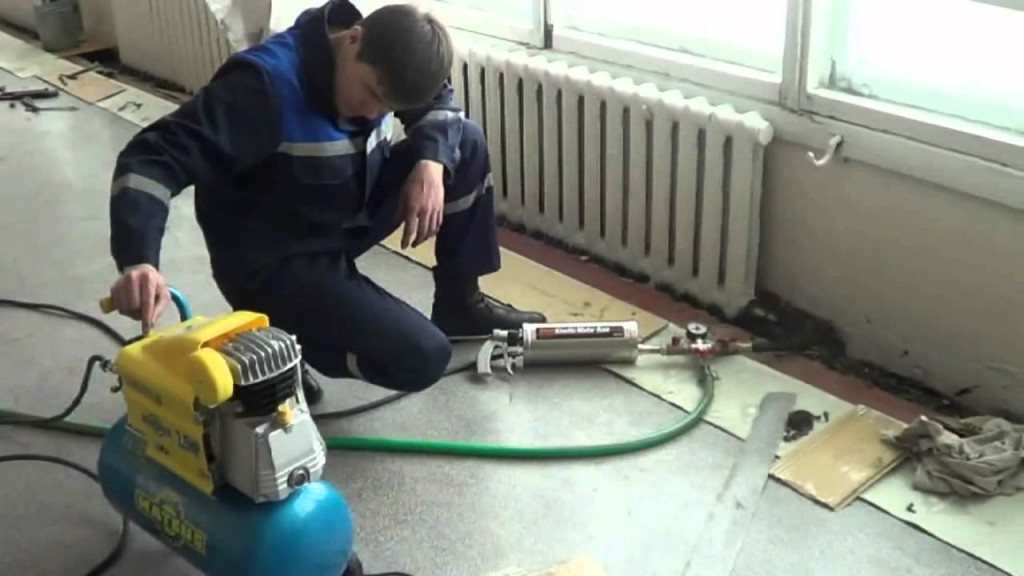 Опрессовка системы отопления своими руками — виды технологий