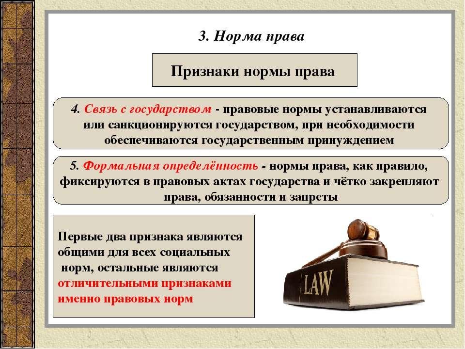 Норма права (юриспруденция) — циклопедия