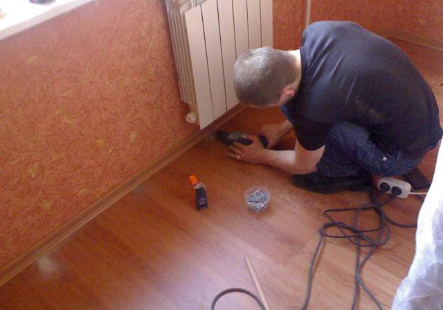 Электрический теплый плинтус – что это такое, устройство, принцип работы, характеристики