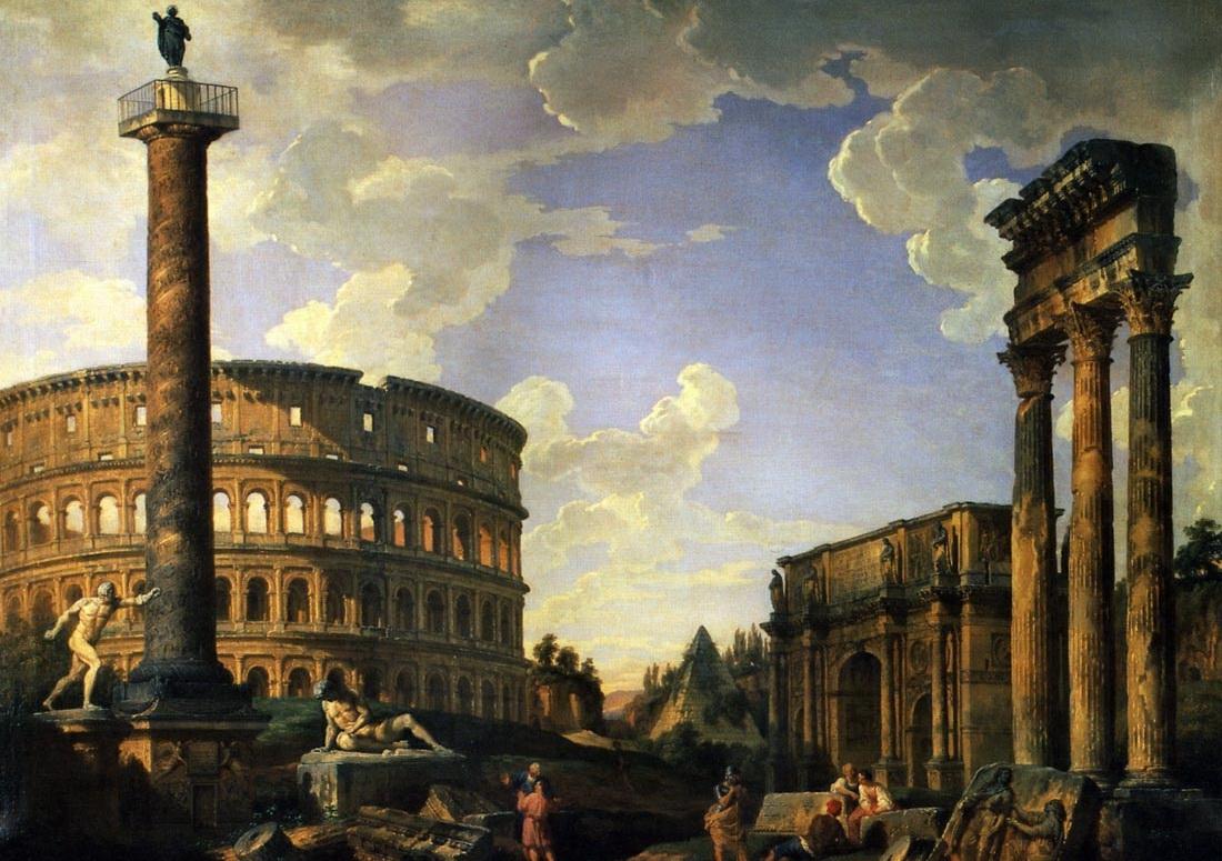 Римская империя (древний рим): история, культура, религия