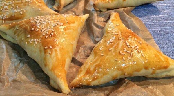 Узбекская слоеная самса – кулинарный рецепт