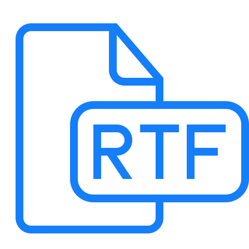 Что такое файл rtf (.rtf) и чем он отличается от других текстовых форматов? - ddok