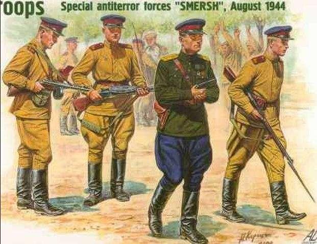 Смерш: самая эффективная контрразведка советского союза