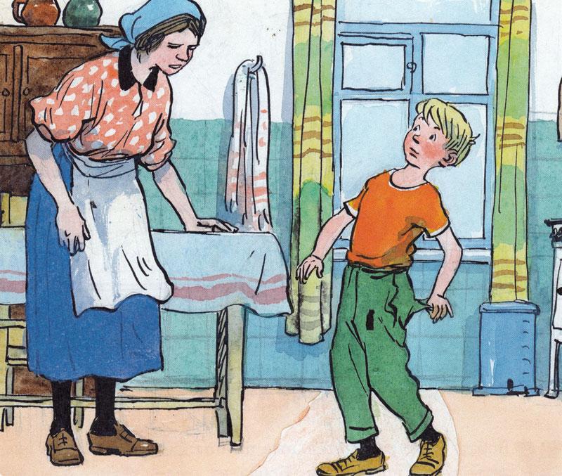 Заплатка - сказки носова: читать с картинками, иллюстрациями - сказка dy9.ru