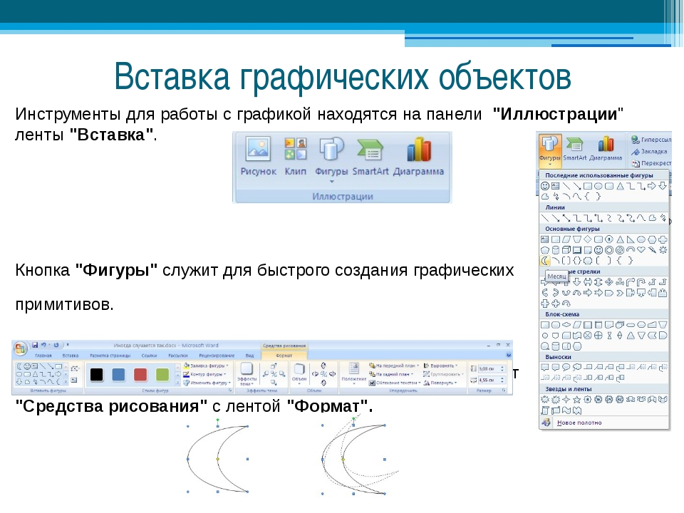 Работа с графикой в ms word 2010, использование автофигур и wordart, часть 1 | koldunblog