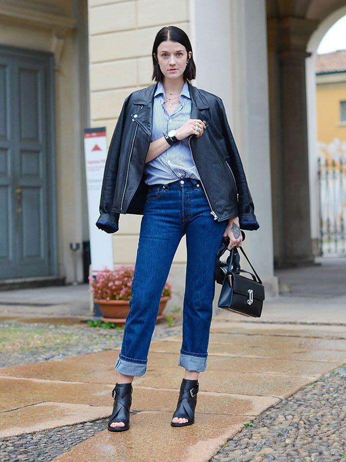 С чем лучше носить мом джинсы? луки для сезонов весна - лето и осень - зима