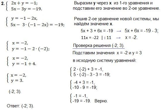 Линейные уравнения – примеры с объяснением (7 класс, математика) - помощник для школьников спринт-олимпик.ру