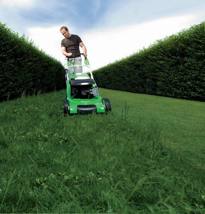 Внедрение функции мульчирования в газонокосилках
