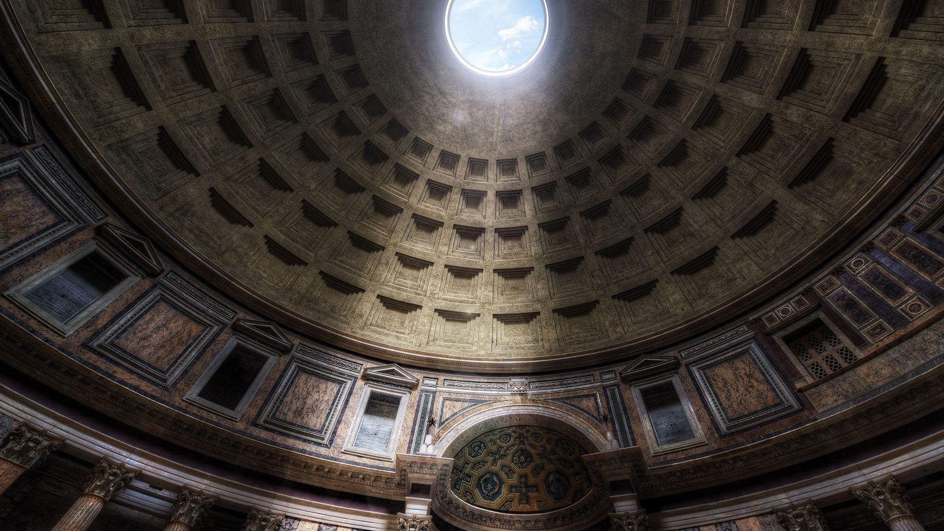 Пантеон в риме – языческий храм древнеримских богов с многовековой историей