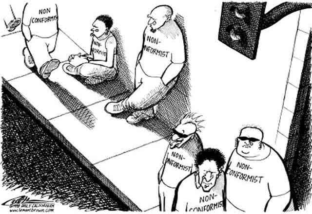 Что такое конформизм. кто такие конформисты и нонконформисты?