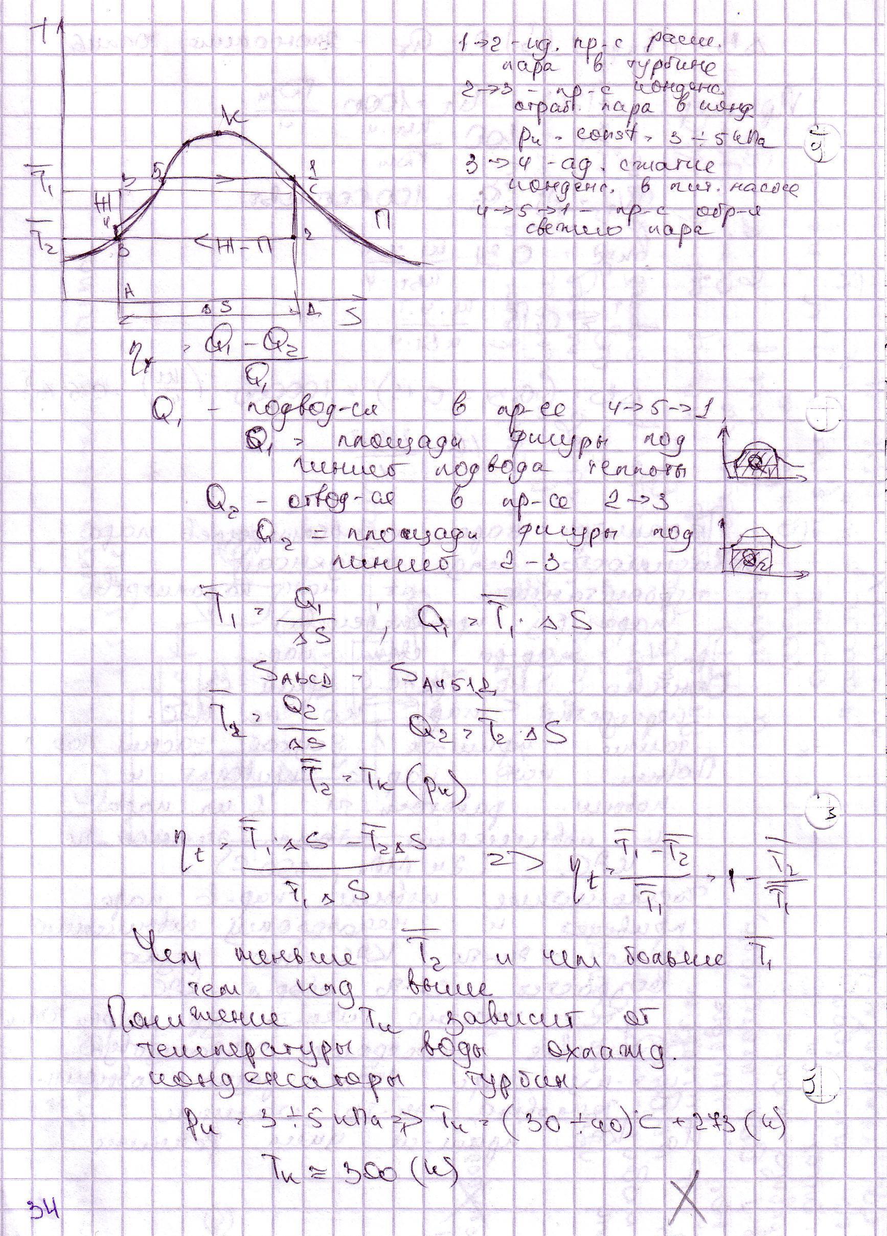Основные свойства водяного пара: температура, давление, плотность.
