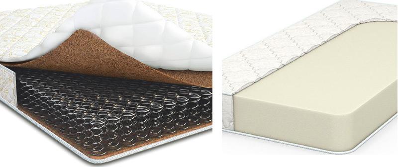 Какой наполнитель лучше для дивана: пружинный блок или пенополиуретан? что выбрать для ежедневного сна? отличие ппу от пружины
