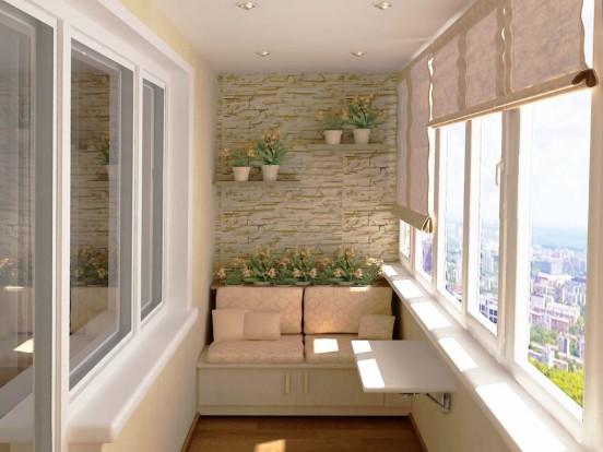 Современный дизайн панорамного балкона: 70 идей с фото