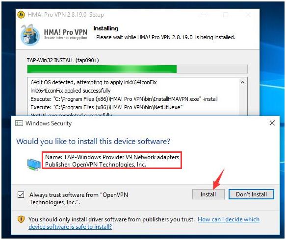 Tap-windows adapter v9: что это за программа, зачем нужна для openvpn server