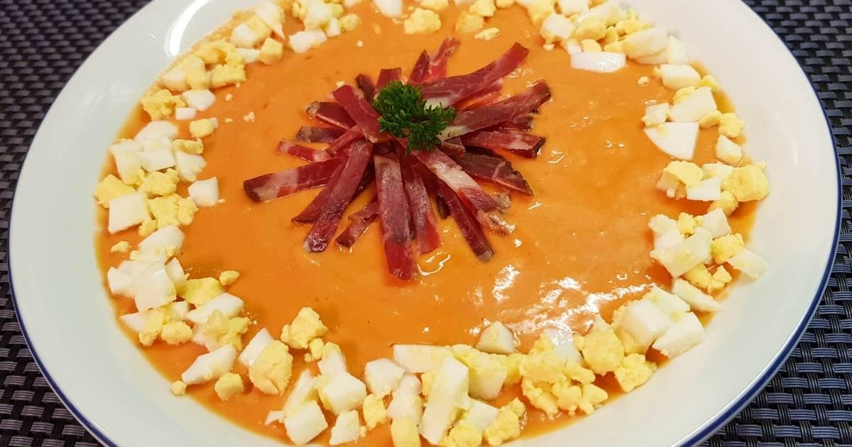 """Холодный томатный суп """"сальморехо"""""""