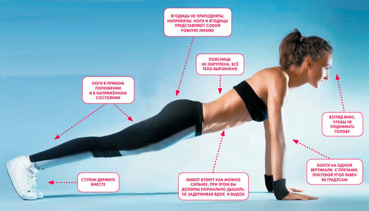 Упражнение «планка»: как правильно делать, разновидности, польза, противопоказания