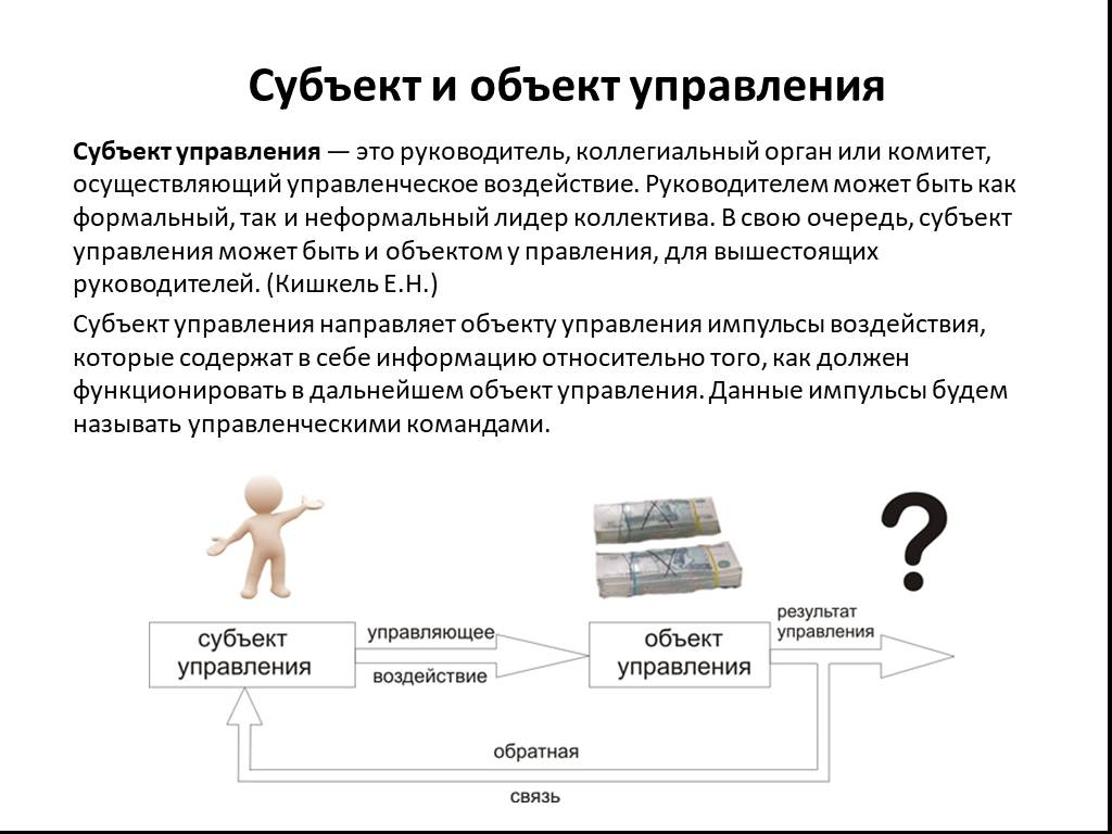 Что такое объект и субъект — определение, особенности и различия