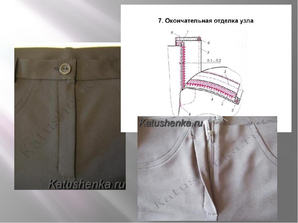 Как вшить молнию в брюки. гульфик, что это такое
