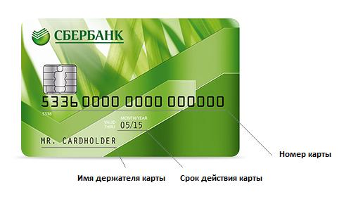 Как узнать счет карты сбербанка?