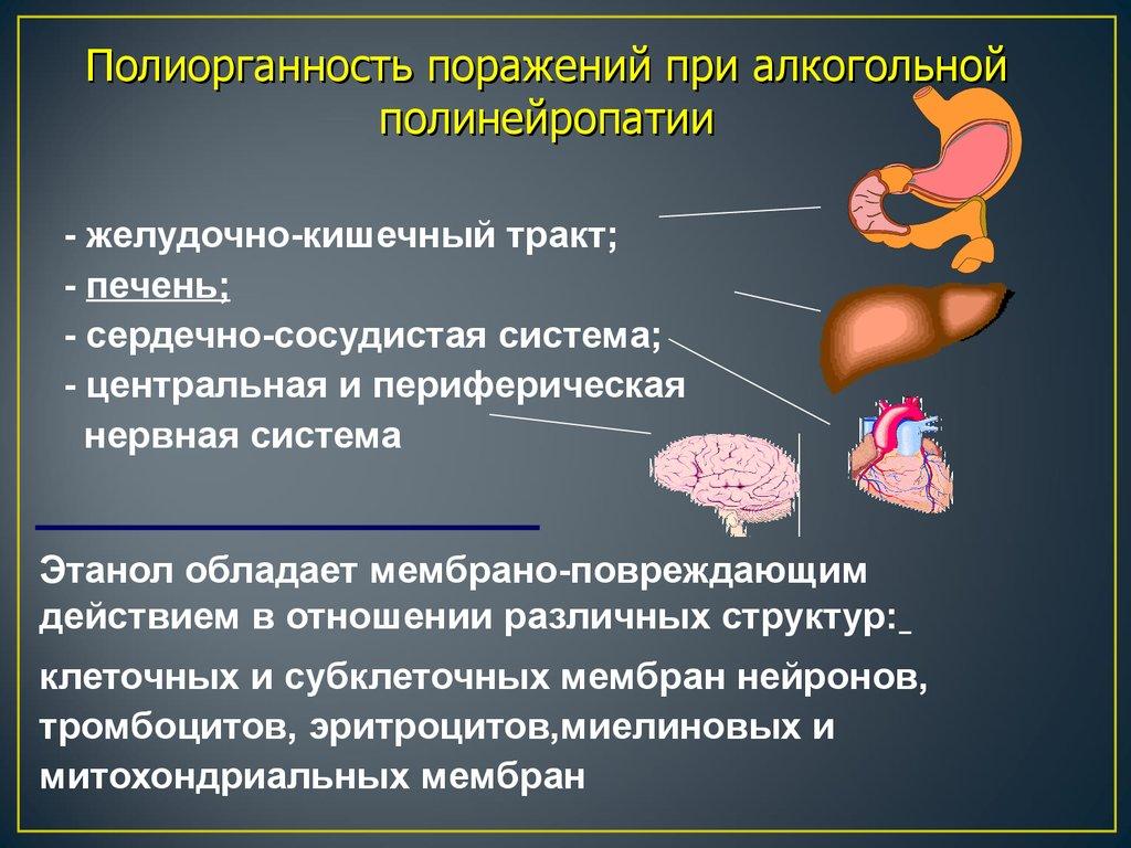 Алкогольная полинейропатия: что это такое, симптомы, диагностика, лечение